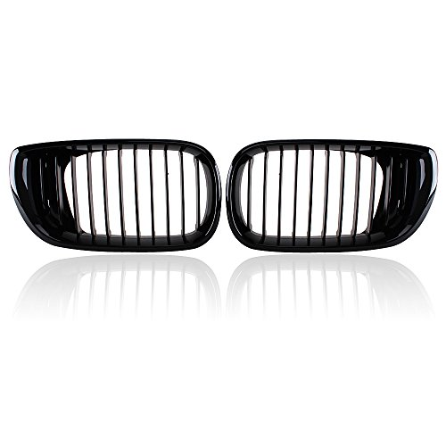 Bmw 325 Series (Front Kidney Grille Grill for 2002-2005 BMW 3 Series 320 325 330 4D Sedan Wagon Sedan 4-Door Replacement.)