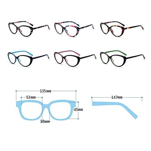 Verres glasses C8 femmesColorful hommes pour plastique fashion carrés retro Verres et Dintang en 08FHqH
