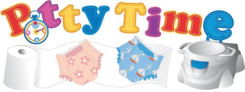 Jolees Boutique Title Wave Dimensional Stickers, Potty Time (Dimensional Title Waves)