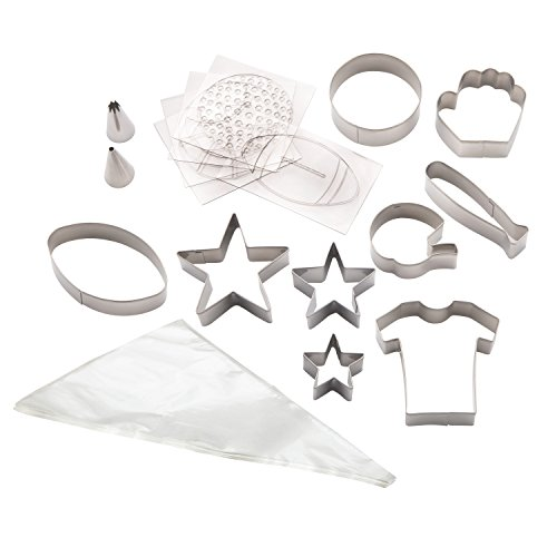 Cake Boss 59582 Cake Decorating Kit, Sports, Stainless ()