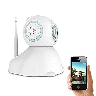 IP Camera, UOKOO 720P Wireless Security Camera Internet Surveillance Camera with Pan/Tilt and 2-Way Audio use for Pet Monitor, Puppy Cam, Baby Monitor and Nanny Camera C42 from UOKOO