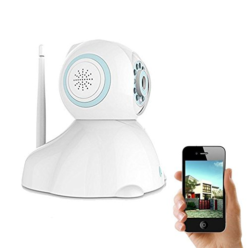 IP Camera, UOKOO 720P Wireless Security Camera Internet Surveillance Camera with Pan/Tilt and 2-Way Audio use for Pet Monitor, Puppy Cam, Baby Monitor and Nanny Camera C42 by UOKOO (Image #8)