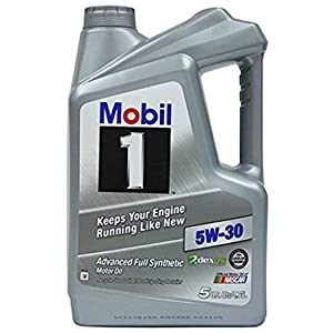 Mobil 1 120764 Synthetic Motor Oil 5W-30, 5 Quart,3 Pack