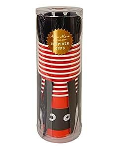 Meri Meri Halloween Spider Cups with Wraps