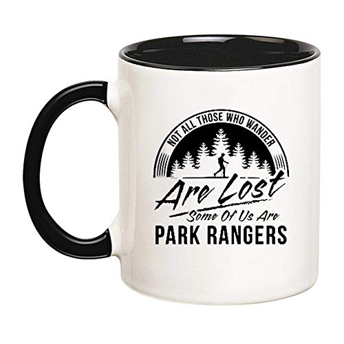 AliceHitMood - Park Ranger Gift, Park Ranger Mug, Ranger Coffee Mug, National Park Gift, National Park Mug, Forest Ranger Gift, Forest Ranger Mug, 11oz Ceramic Coffee Mug/Cup, Gift Wrap Available