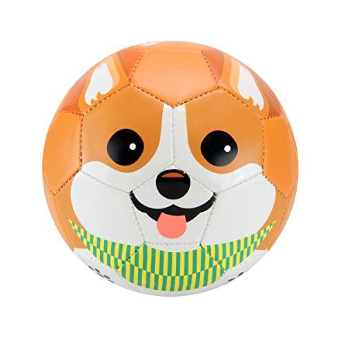 Daball Toddler Soft Soccer Ball (Cookie The Corgi) - Cookie Soccer Ball