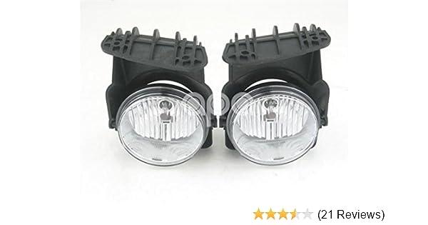 For 07-13 Silverado Sierra Fog Light  Driving Lamps Set Pair Assembly Kit OE