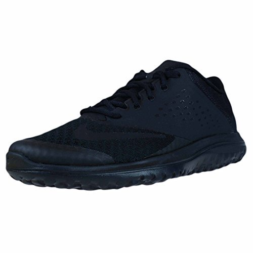 2 Ladies Running Shoes (NIKE Women's FS Lite 2 Running-Shoes, Black/Black/Black, 7.5 B US)