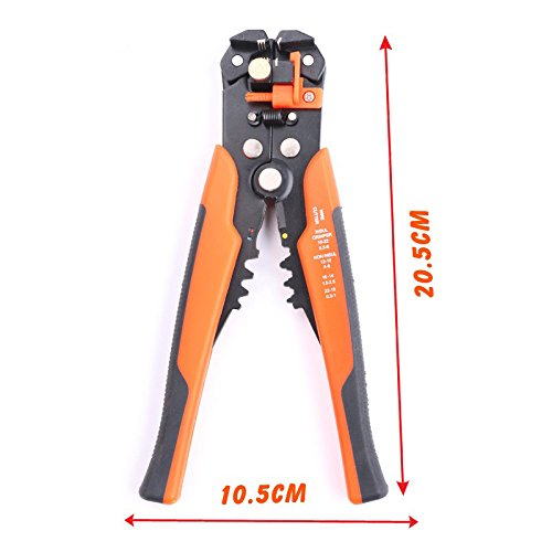 SHOWHASH Self-Adjusting Professional Multifunctional Cable Wire Stripper Plier Cutter Crimper Automatic Crimping Stripping Plier Tools by SHOWHASH (Image #5)