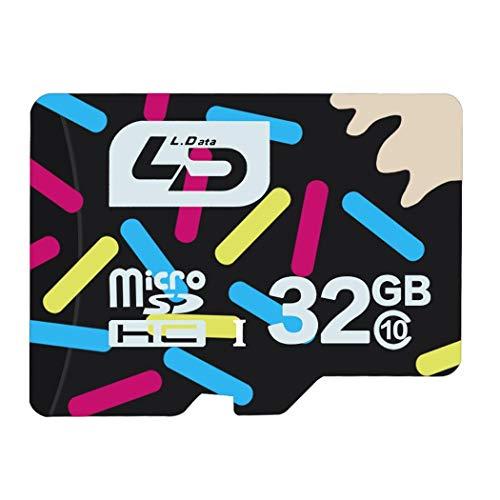 MAMOIU Waterproof 32G Camera Phones Tablet Driving Recorders Memory Card TF/MicroSD Cards