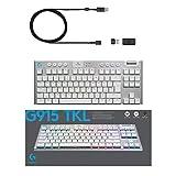 Logitech G915 TKL White Tactile Tenkeyless