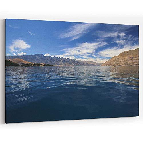 Kayaking in New Zealand Canvas Art Wall Dector,127492 Modern Wall Decor/Home Decoration,36