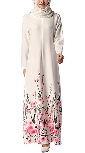 arab white dress - 6
