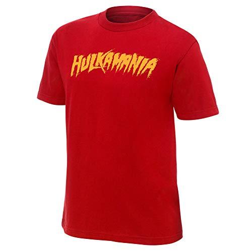 Hulk Hogan Hulkamania Red T-Shirt Medium