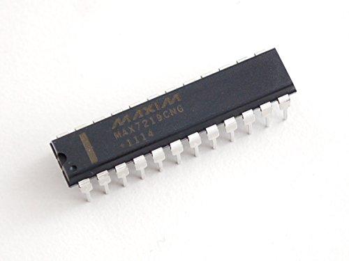 5x MAX7219 LED DISPLAY DRIVER 24-DIP IC LED Matrix Bar Graph