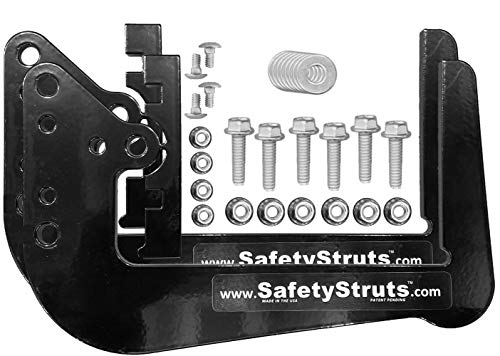 Mount-n-Lock SafetyStruts Prevent RV Bumper Failure TM (SSN-Standard, Black)