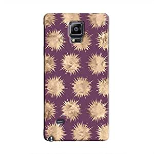 Cover It Up - Sand Star Purple Galaxy Note 4 Hard Case
