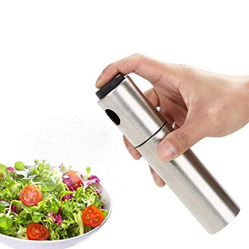 Tinffy Stainless Steel Spray Oil Bottle For Kitchen Grilling Baking Oil Sprayers