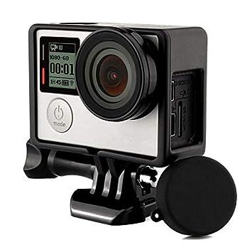 YtPgto - Carcasa para GoPro Hero 4 3+ 3 (Marco de Borde ...