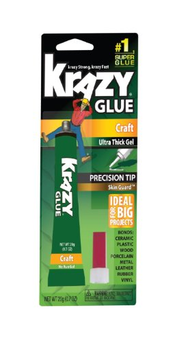 Elmer's Products KG38136MR 24 Pack 20g Krazy Glue Craft Gel by Elmer's Products