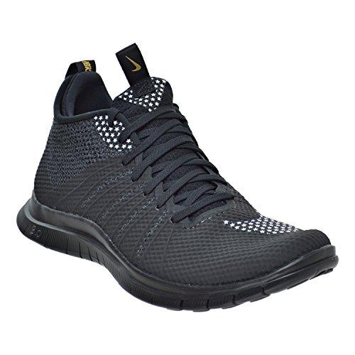 Nike F.C. Free Hypervenom 2 Sneaker Turnschuhe Schuhe für Herren Schwarz (Black/White/Metallic Gold)