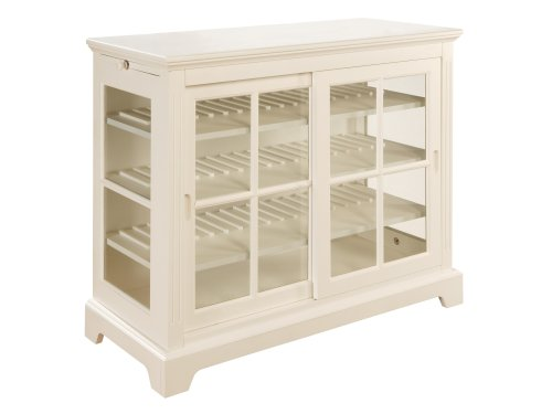 Amazon powell color story pure white sideboard with sliding amazon powell color story pure white sideboard with sliding glass door buffets sideboards planetlyrics Image collections