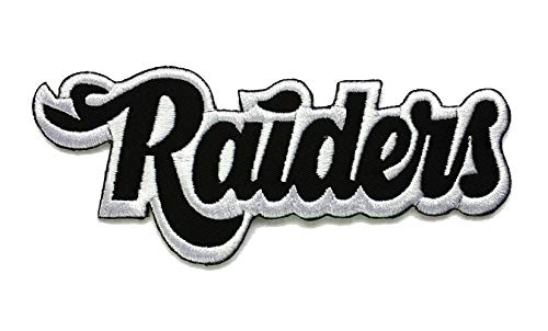 Raiders Football Embroidered Sew/Iron On Patch 5
