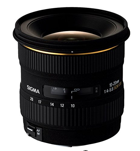 Sigma 10-20mm f/4-5.6 EX DC HSM Lens for Canon EOS Digital S