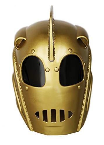 xcoser Rocketeer Mask Cliff Secord Deluxe Resin Helmet Halloween Cosplay Costume]()