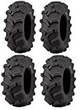 Full set of Kenda Executioner (6ply) 26x10-12 and 26x12-12 ATV Tires (4)