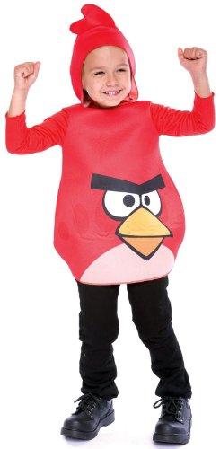 Angry Birds Red Bird Costume - 2T (Angry Birds Yellow Bird Infant Costume)