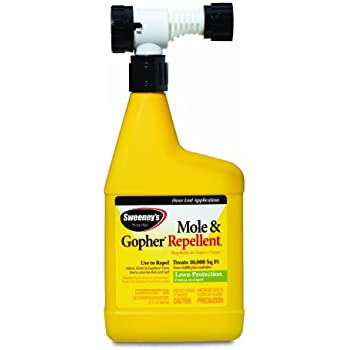 Sweeney's S8002 1 qt. RTS Mole and Gopher Repellent