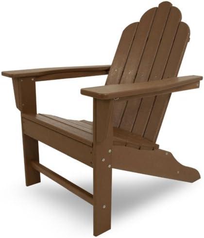 POLYWOOD ECA15TE Long Island Adirondack Chair