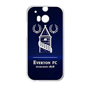 everton logo png Phone Case for HTC One M8