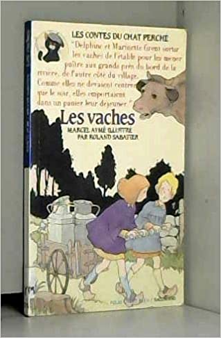 Couverture de Les vaches - un conte du chat perche