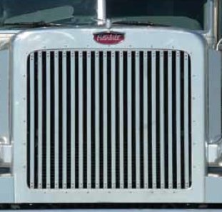 Peterbilt 388, 389 Grill with 20 vertical bars by Roadworks