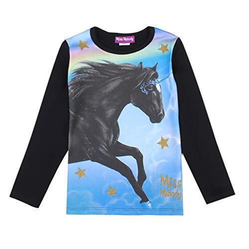 Miss Melody Meisjesshirt met lange mouwen 84017