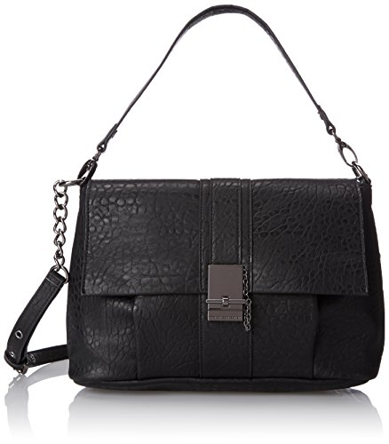 Price comparison product image French Connection Izzy Messenger Bag, Black, One Size