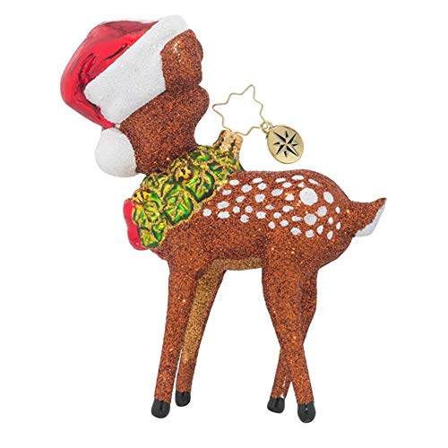 Christopher Radko Deer (Christopher Radko Oh Deer Stag Reindeer Animal Christmas Ornament)