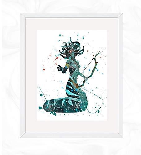 Amazon com: Medusa the Gorgon Prints, Greek Mythology
