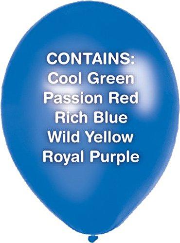 ad167164c9293 Amscan 27.5 cm 50-Piece Metallic Latex Balloon