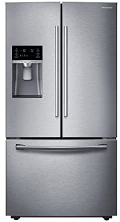 SAMSUNG RF23HCEDBSR Counter Depth French Door Refrigerator, 22.5 Cubic  Feet, Stainless Steel