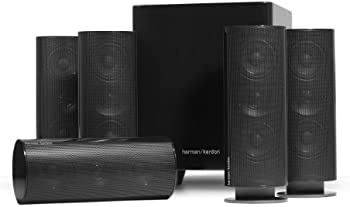 Refurb Harman Kardon HKTS 30BQ 5.1-Ch Home Theater Speakers