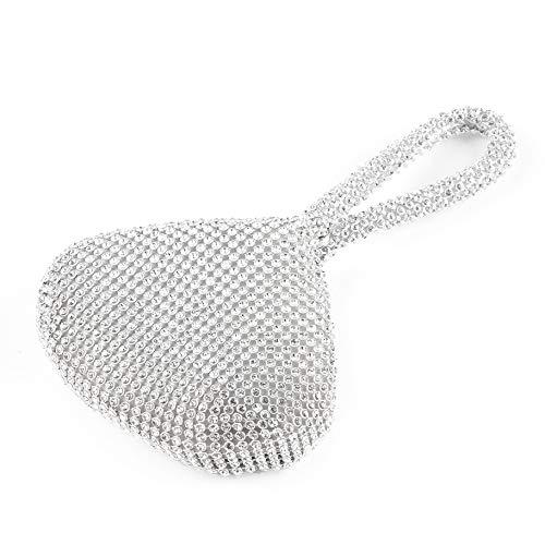 Metme 1920s Flapper Clutch Gatsby Pearl Handbag Roaring 20s Evening Clutch Beaded Bag 1920s Gatsby Costume Accessories