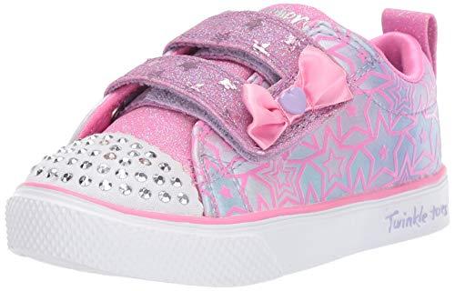 - Skechers Kids Girls' Twinkle Breeze 2.0-Sparkle SI Sneaker Lavender/Pink 5 Medium US Toddler