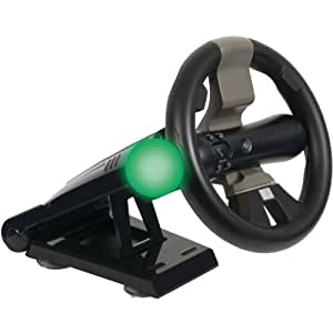 CTA Digital Racing Wheel With Stand For PlayStation Move & DualShock Controllers - Volante/mando (Volante, Playstation 3, Select, Inalámbrico, RF, Negro)