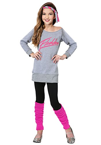 Child Flashdance Costume Medium