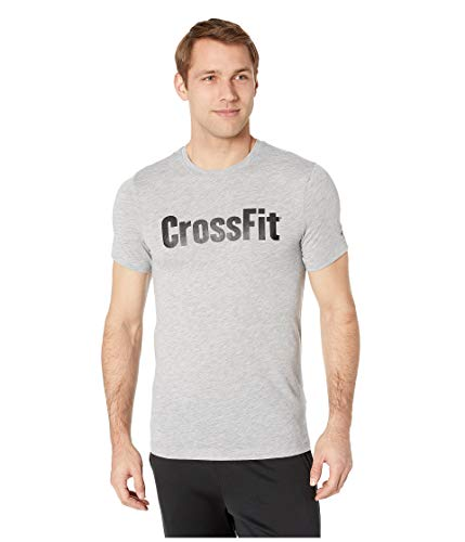 Reebok CROSSFIT Speedwick Tee, Canton Red, Large