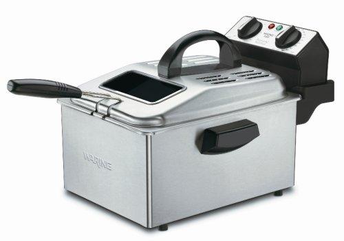 Cuisinart CDF-250C 1800-Watt Deep Fryer, Brushed Stainless