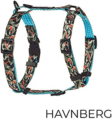 Havn Berg arnés del Perro Talla S, Pecho: 38 cm - 54 cm, para el ...